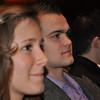 Kelly, Ben, Jerry + Amy watching Megan's graduation