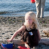 Hannah at Alkai beach for Nik's engagement party.