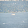A tour boat heading off to watch the Blue Angels performing at SeaFair