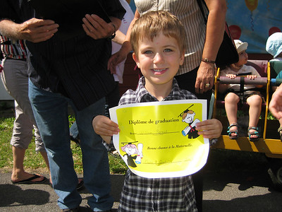William Parent - DayCare Graduation (June 2009)