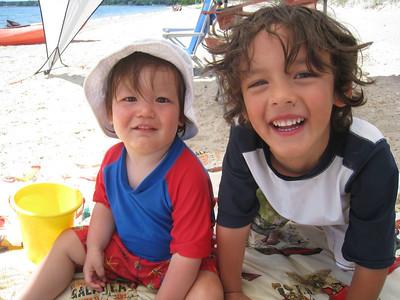 Dylan & Skylar--July 2011