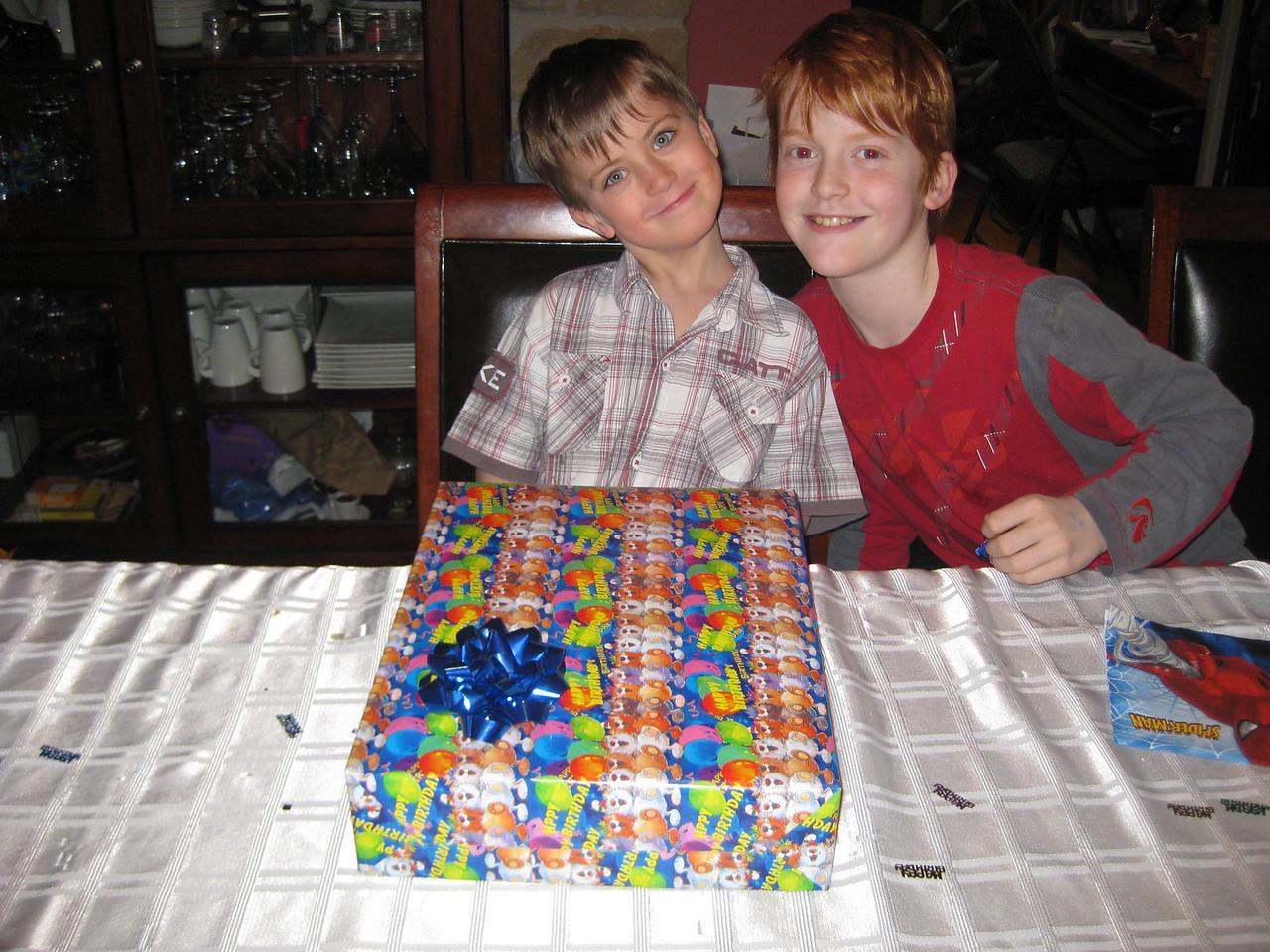 Williams Birthday - March 27th 2011