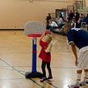 Hannah at their first basketball class.