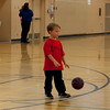 Aaron at their first basketball class.