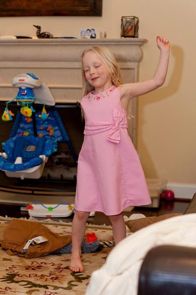 Hannah dancing