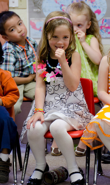 Kaitlyn at the Rainbow Montessori Spring Festival.