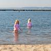 Kaitlyn and Hannah at Juanita Beach Park