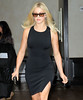 Non-Exclusive<br /> 2012 June 6 - Julianne Hough heads out of her hotel in NYC. Photo Credit Jackson Lee