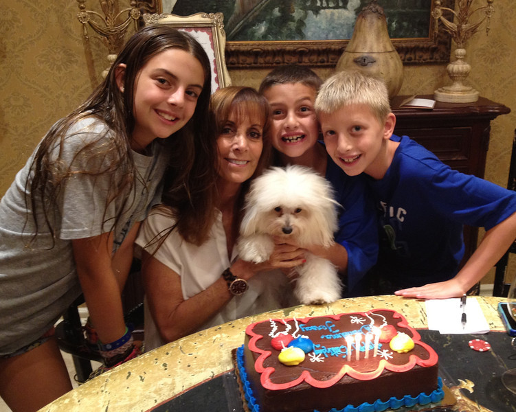 Lots to celebrate.  Morgan home.  Grandma and Jersey's birthdays