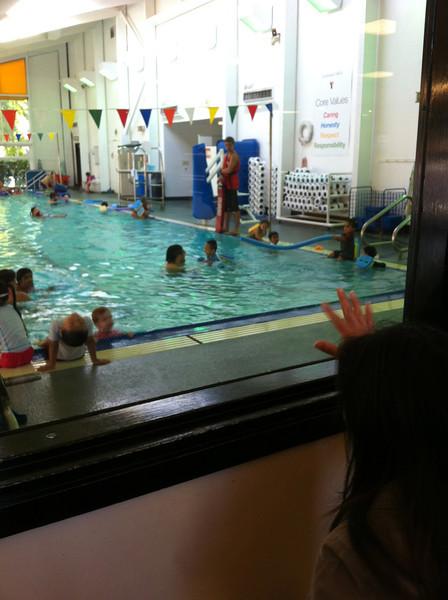 swim w coach