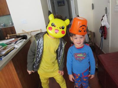 Dylan & Skylar--October/November 2012
