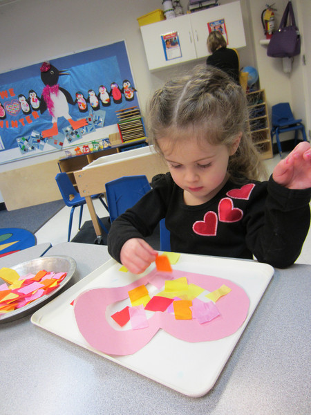 Valentine's Day party at school