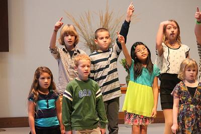 2013 Oct Kids Choir