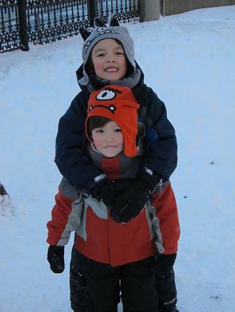 Dylan & Skylar--February 2013