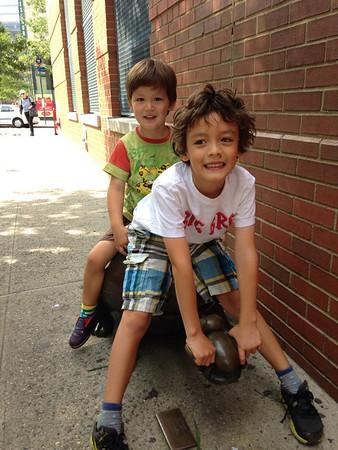 Dylan & Skylar--September 2013
