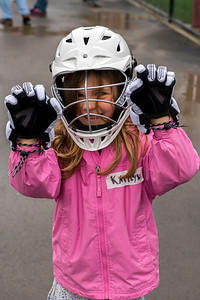 Kaitlyn at a lacrosse clinic