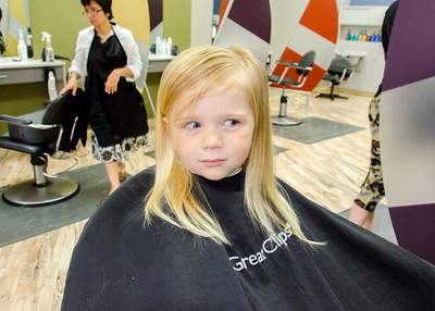 Ava's First Haircut