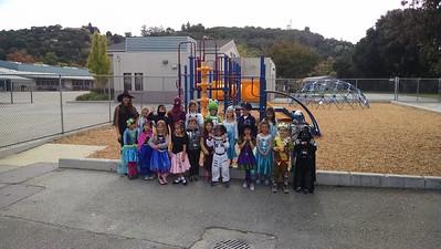 Ms. Mangione's kindergarten class