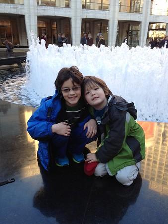 Dylan & Skylar--December 2014
