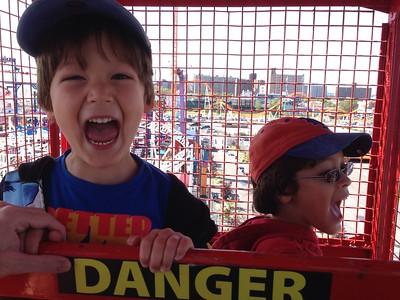 Dylan & Skylar--September 2014