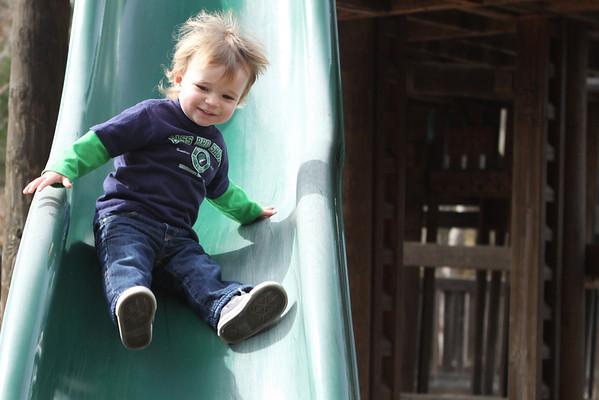 Hutton (fun @ the playground!)