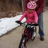 20150111 Klara on birthday bike