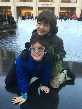 Dylan & Skylar--December 2015