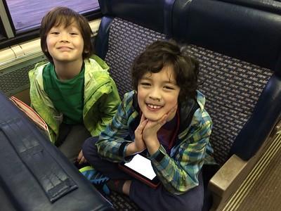 Dylan & Skylar--April 2015