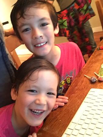 Dylan & Skylar--June 2015