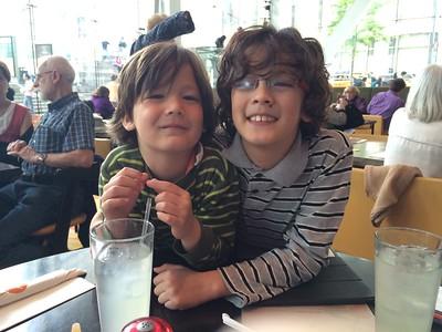 Dylan & Skylar--May 2015