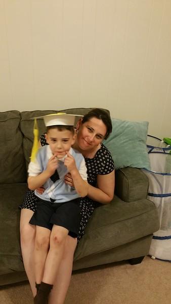Joey and Ben Preschool Graduation