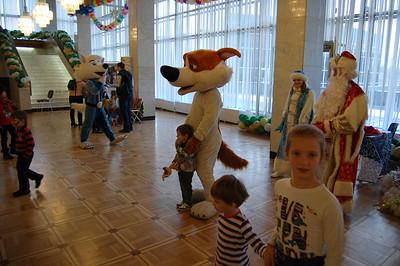 2015-01-04, Belka i Strelka show in Izmailovo