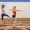 Kaitlyn, Hannah and Ava Gymnastics Tryouts
