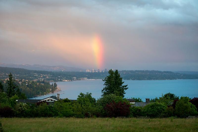 Rainbow over Bellevue