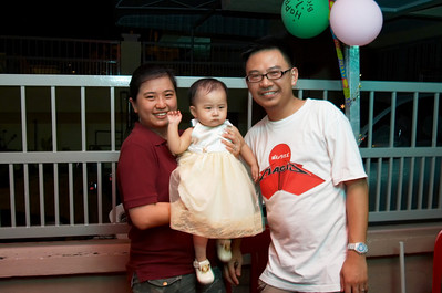 25 Oct 2008 Isis 1st birthday