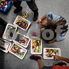 Children pick out lego pieces for their robots during a lego robotics summer camp at Discovery Science Place in Tyler, Texas, on Wednesday, June 28, 2017. Students learned teamwork, the basics of coding, as well as design principles for their robots. (Chelsea Purgahn/Tyler Morning Telegraph)