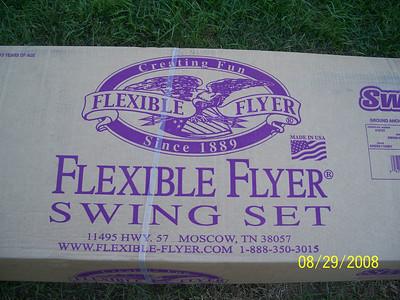 8-30-08 Swing set