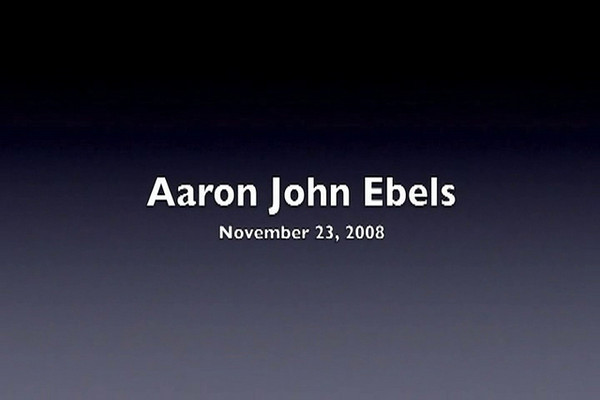 Aaron's First Birthday Video
