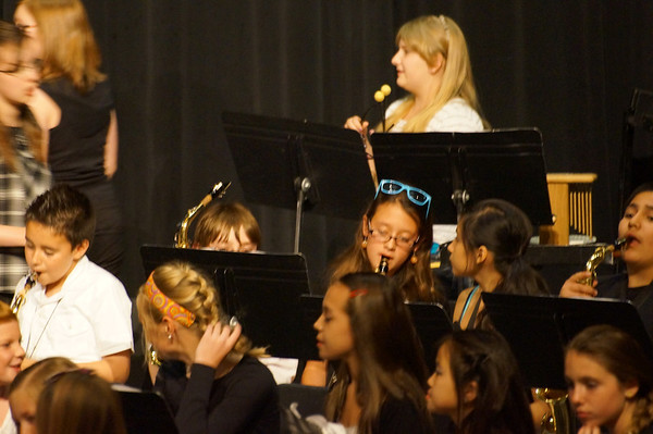 Abby Spring Band Concert 2013