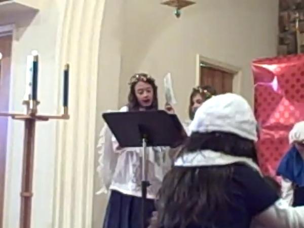 Abby and Aidan Xmas Program 2011