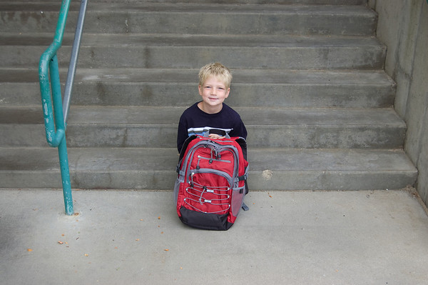 Adam's 1st Day of 2nd Grade