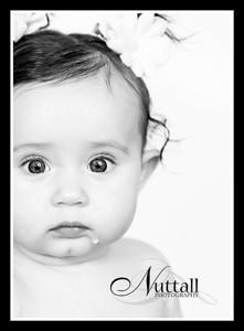 Addie 6 months 033bw