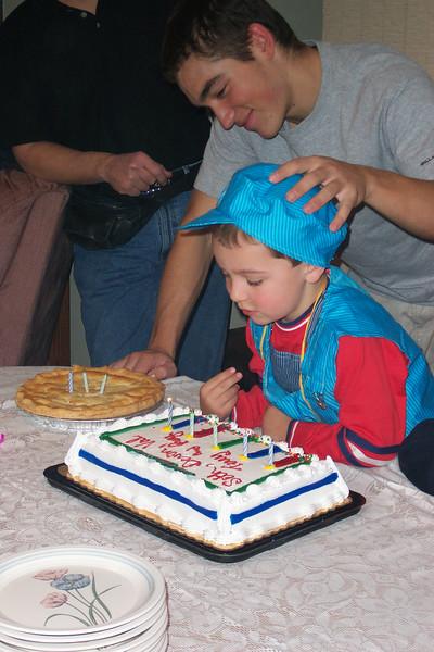 2003/10 - Seth's Birthday