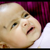 How quickly a cry appears on the face of a baby :).