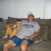 Thursday night - long day of travel (90 mins plane ride) for Grandpa - 6/25