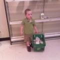 Grocery Shopping at the Children's Museum