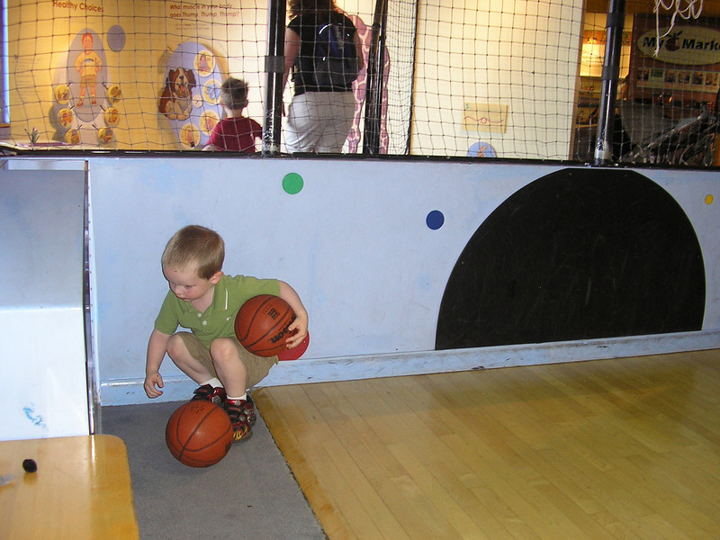 One basketball is never enough