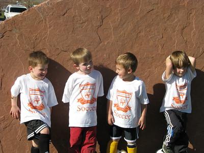 The boys on the team