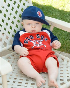 Red Sox fan at three month