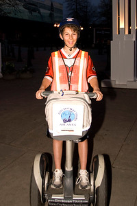 Jason on a segway